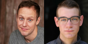 "Adam Archer and Danny Catlow of Second City's ""Free Speech (While Supplies Last),"" images via Second City"
