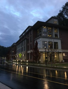 Noble Hall, WCU's newest building. Photo by Meghan O'Sullivan