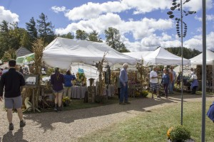 The Cashiers annual Leaf Festival was home to over 100 artisans and vendors this weekend. Photo by Rachel Plouse.