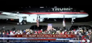 Donald Trump talks jobs in Eastern North Carolina