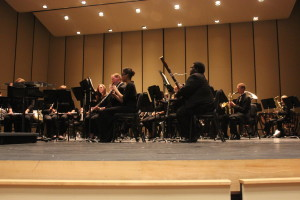 WCU wind ensemble. Photo by Stephen Baldwin