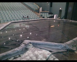 Pool built for show. Taken from Stage & Screen page.