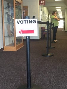 No lines on election day in Cullowhee