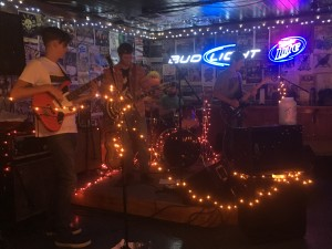 Local rock band Log Noggins perform at No Name Sports Pub in Sylva, Nov. ...Photo by Yustin Riopko.