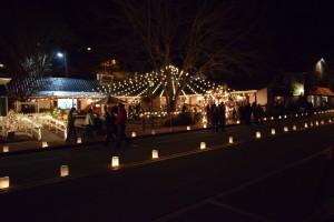 Dillsboro Light and Luminaries starts the holiday season, Dec. 2, 2016. Photo by Chris Lang.