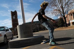 What you might not know about skateboarders at WCU
