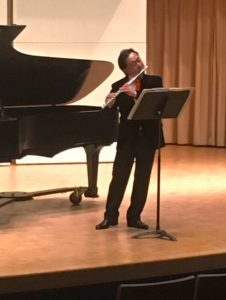 Renowned flutist Joel Tse performs in Coulter Recital Hall