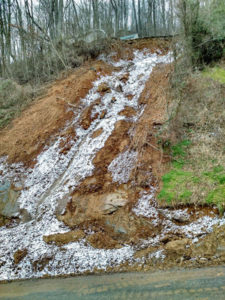 County landslide maps near completion