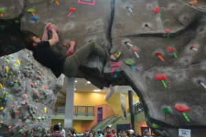 Climbing Club provides support and community for all involved