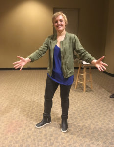 Comedian Emma Willmann performs stand-up at WCU