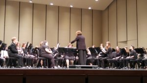 Concert, symphonic bands perform first spring concert