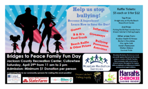 Family fun day for a good cause – stop bullying in schools