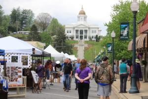 Thousands flock to the Greening Up the Mountains festival