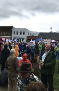 WNC communities organize Town Hall on healthcare; Mark Meadows plays hooky