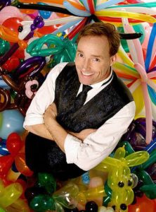 Comedian, magician, and balloon artist John Cassidy performs at WCU