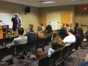 Mark Meadows visits WCU political science class