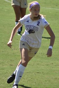 Catamount spirit: Megan McCallister is coming back stronger