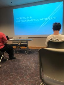 WCU Career Services discusses working in multi-generational office