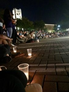 Candlelight vigil honoring the life of Jacob Ray