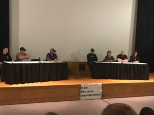 "Veterans tell WCU students about their ""Unseen Scars"""