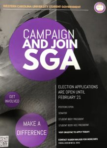 Student Government Association looking to increase turnout in upcoming elections